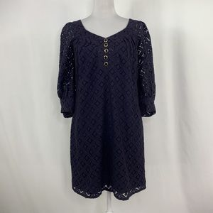 Milly New York Bergdorf Goodman Lace Shift Dress